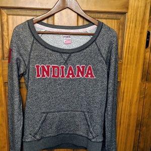 Pink Indiana University Sweatshirt